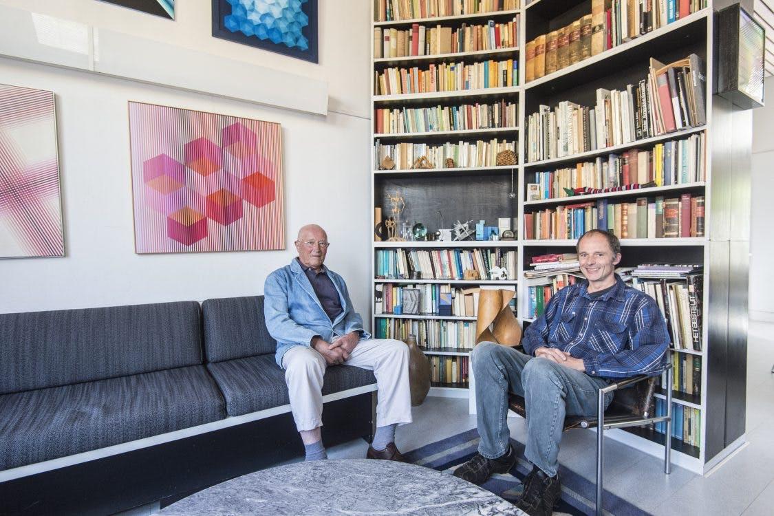 Architect Bertus Mulder en zijn zoon over Gerrit Rietveld als spirituele vader