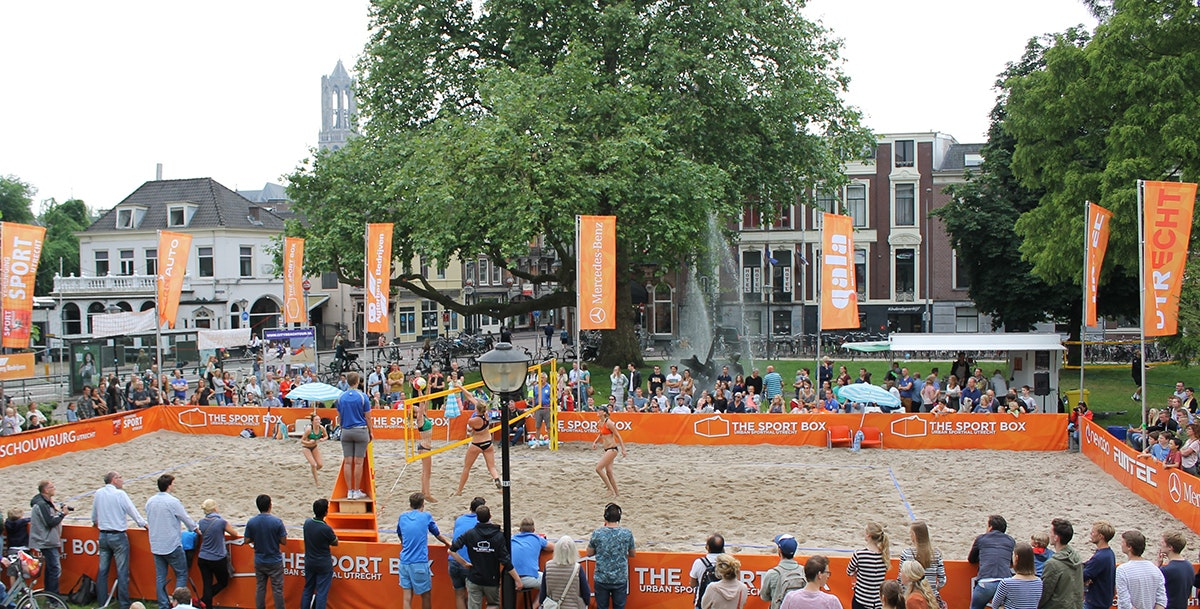 Lucasbolwerk toneel van Eredivisie Beachvolleybal Tour op 10 en 11 juni