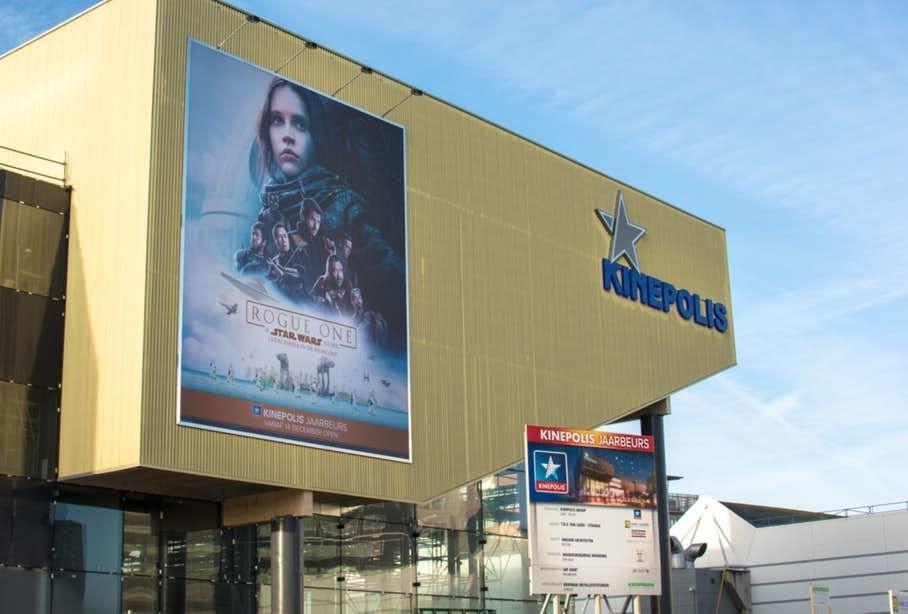 Star Wars conventie naar Kinepolis Jaarbeurs Utrecht
