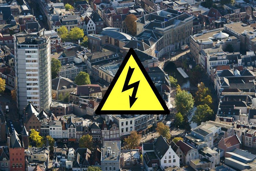 Meer dan duizend huishoudens zonder stroom in Utrecht