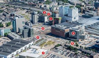 Utrecht Bouwt: Jaarbeurszijde station Utrecht Centraal