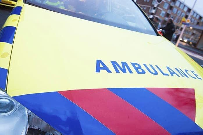 Zwaargewonde bij ongeluk op Anne Frankplein in Utrecht