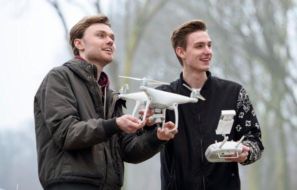 ROC Midden-Nederland start met drone-opleiding