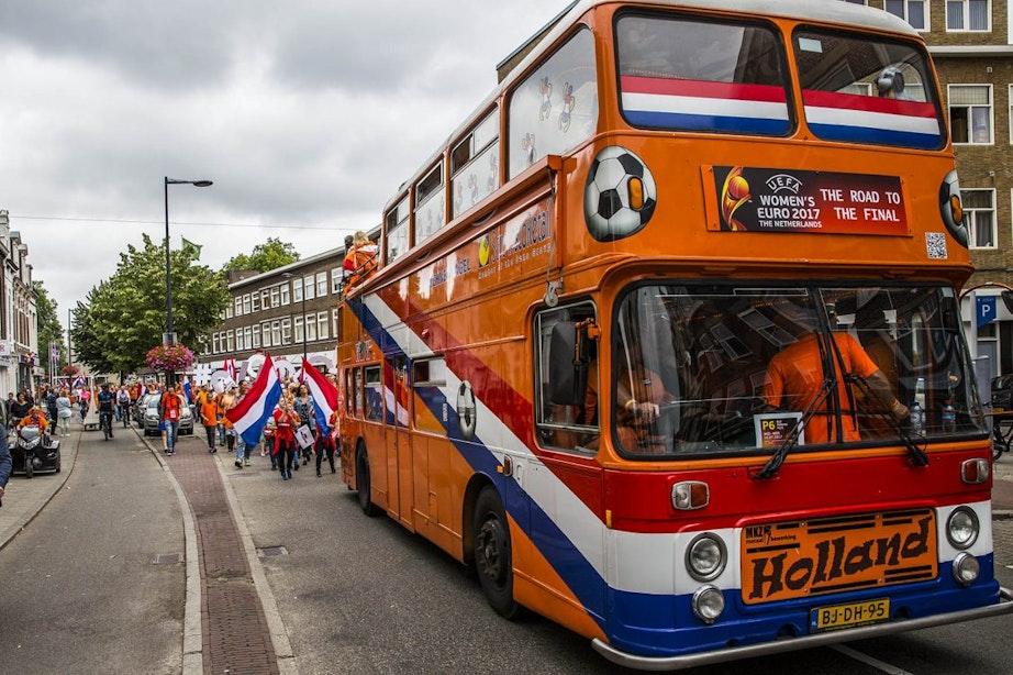 Foto's: Oranjeparade trekt door Utrecht