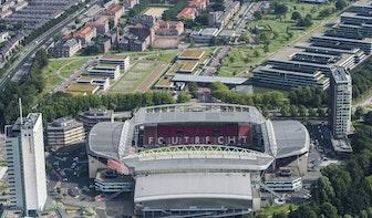 Inbraak in FC Utrecht Fanshop in het stadion