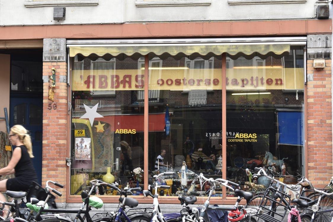 Op bezoek bij Abbas Oosterse Tapijten: 'Ik zou de winkel niet kunnen missen'
