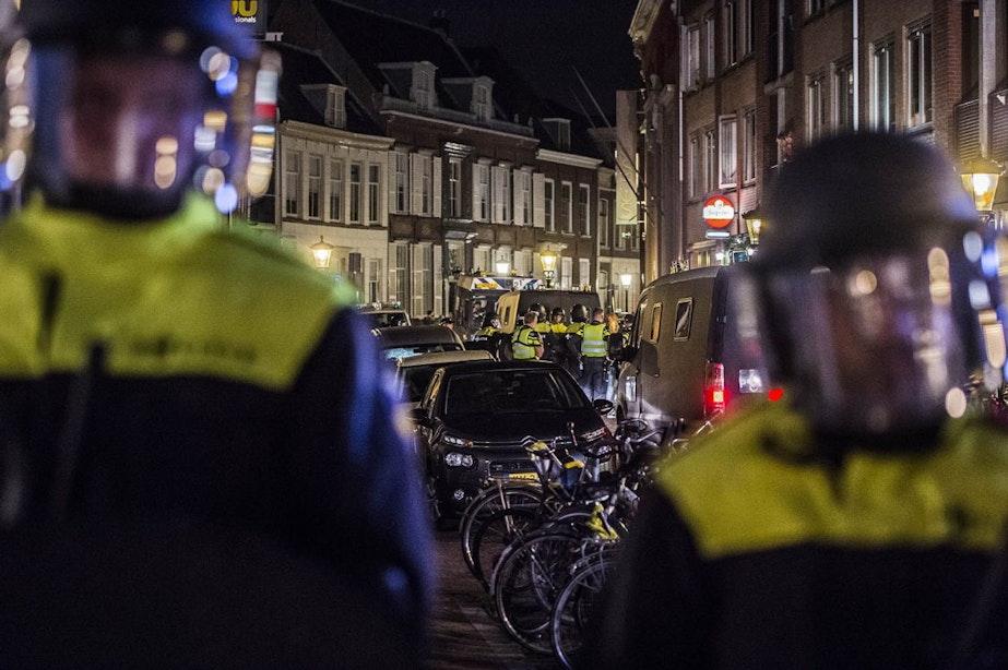 'Utrecht-fans liepen met planken met spijkers'