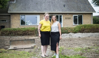 De herinnering van: In een gekraakte villa aan Het Zandbegint een hechte vriendschap