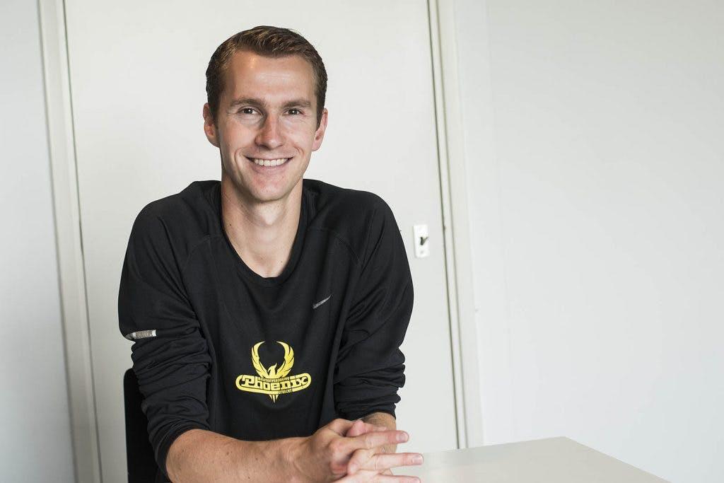 Het weekend van Arjen van der Logt, deelnemer aan de NK Atletiek: 'Ik hoop op een plek in de finale'