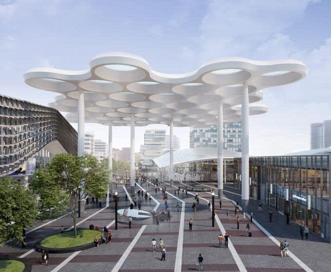 Stationspassage Utrecht Centraal vanaf vandaag enkele weken dicht