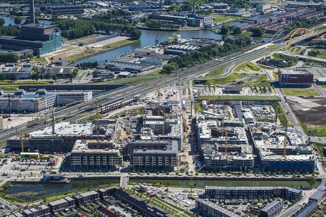 Utrecht bouwt: Leidsche Rijn Centrum begint vorm te krijgen