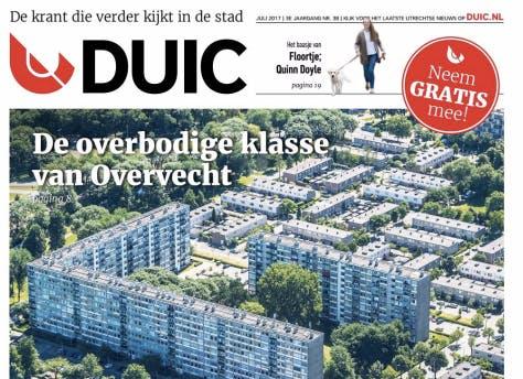 De nieuwe DUIC krant ligt weer overal in de stad