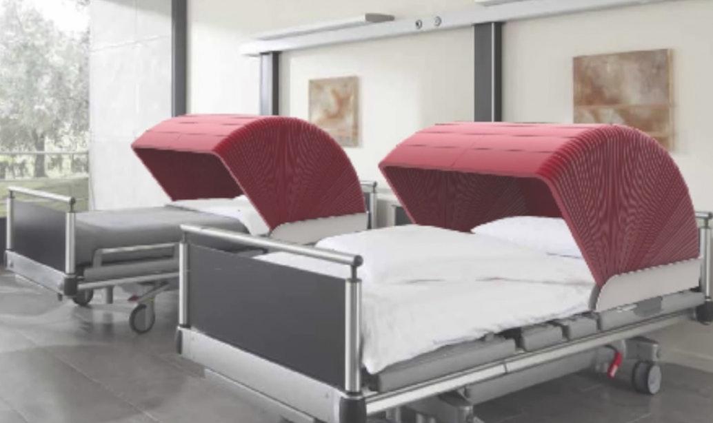 UMC wil meer privacy voor patiënten met de 'bedhoodie'