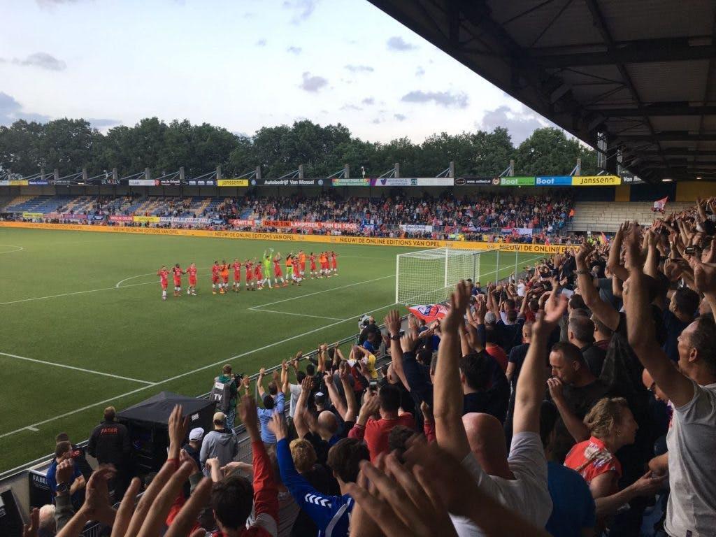 FC Utrecht wint in Waalwijk en is door naar volgende ronde