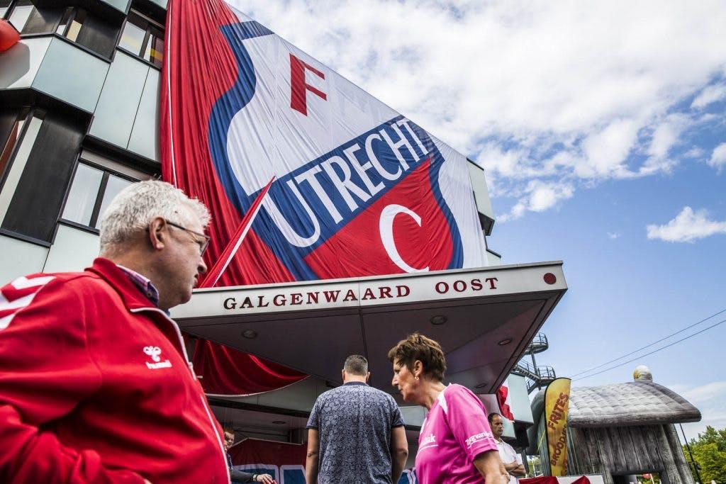 Foto's: Open dag FC Utrecht bij Stadion Galgenwaard