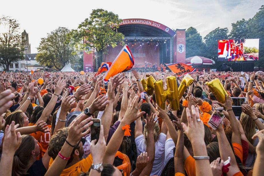 Wethouder welwillend over groot scherm in Utrecht bij finale WK: Nu nog een ondernemer