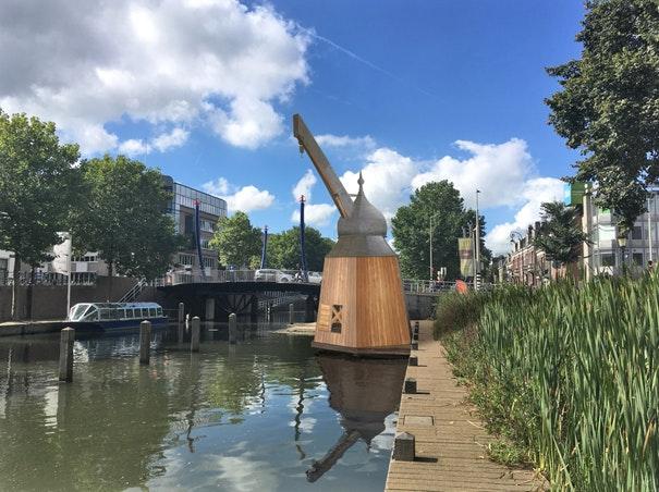De bouw van de historische Utrechtse stadskraan gaat beginnen