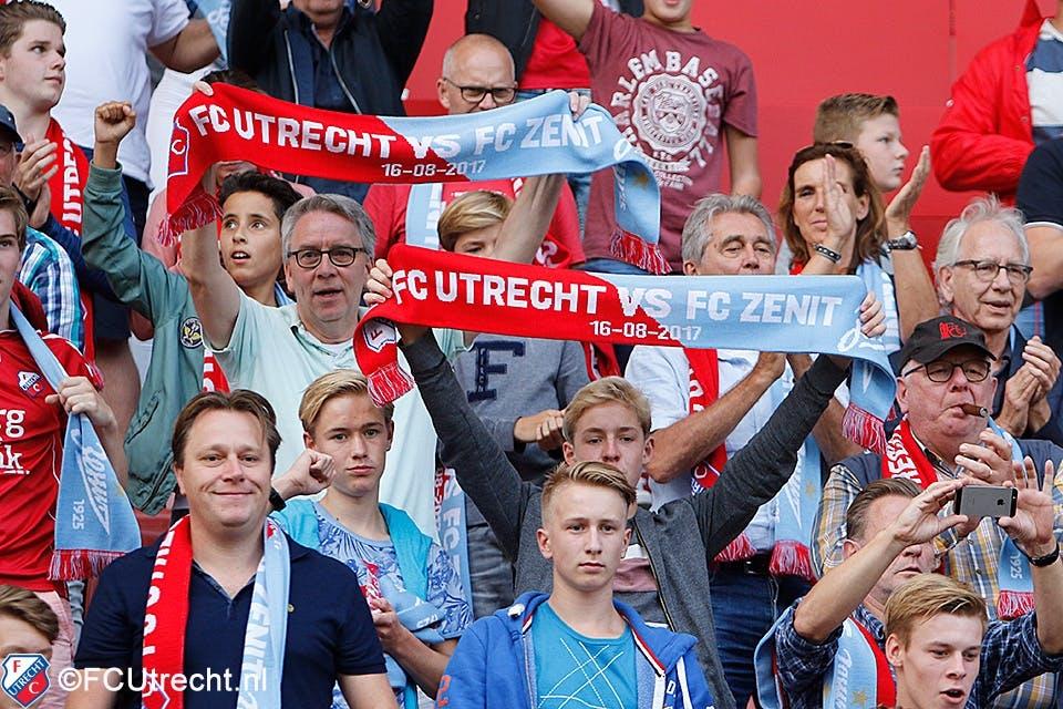 FC Utrecht buigt het hoofd na verlenging in Rusland