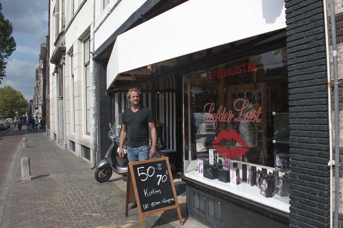 Sekswinkel Liefde & Lust aan de Oudegracht wordt fietsenwinkel