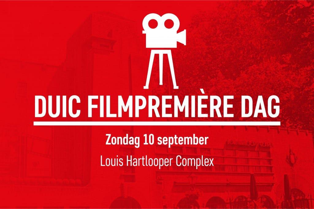 Winactie: diner voor twee personen tijdens DUIC Filmpremière Dag