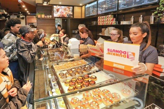 Dunkin' Donuts komt naar Utrecht met twee vestigingen