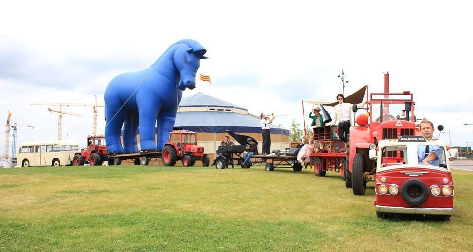 Einde voor mislukt festival Showman's Fair op Berlijnplein
