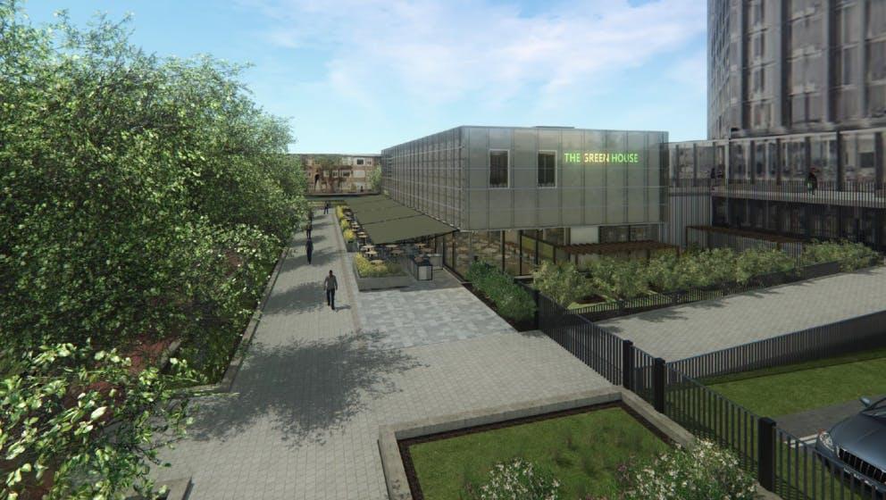 Nieuwe horeca aan de Croeselaan: The Green House