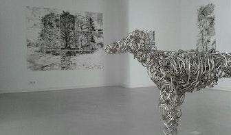 Weekendexpositie in Galerie Kuub: 'Kort maar krachtig'