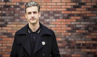 Allemaal Utrechters – Andreas Kallipolitis: 'Sinds ik hier woon is mijn stijl als grafisch ontwerper veranderd'