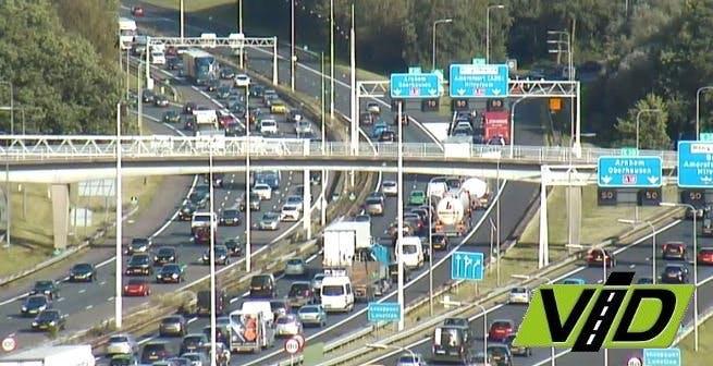 Ongeval op de A27 zorgt voor omleidingen en vertraging