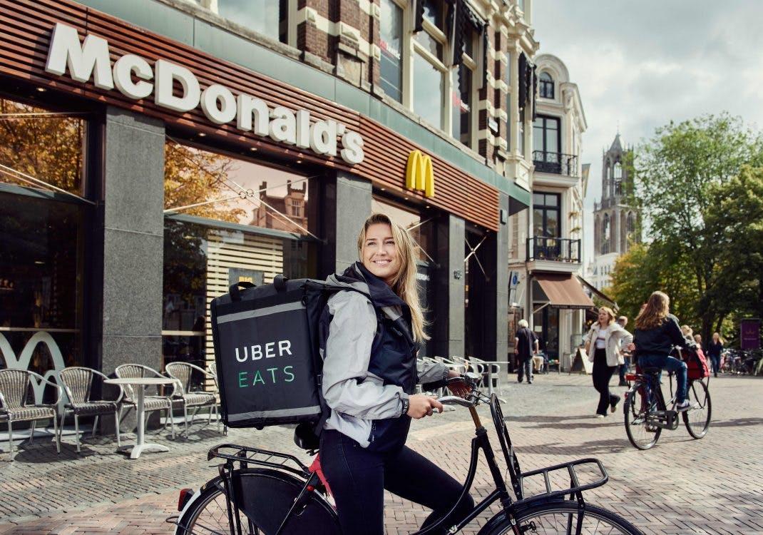 McDonalds gaat thuisbezorgen in Utrecht