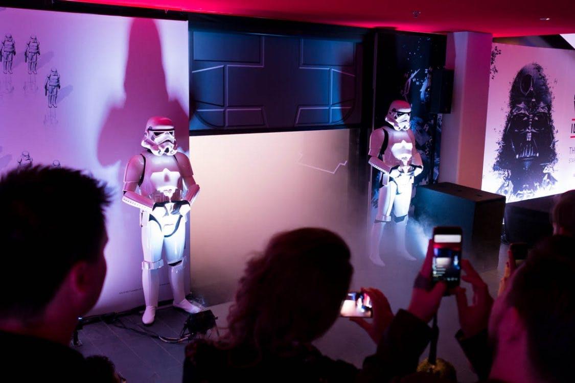 Foto's: Opening Star Wars-tentoonstelling in CineMec