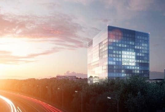 Eerste heipalen RIVM-gebouw op de Uithof de grond in