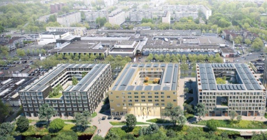 Sloop loodsen NPD in Overvecht van start: ruim 900 woningen op komst