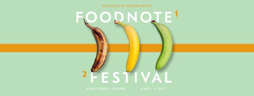Dagtip: Foodnote Festival 2017