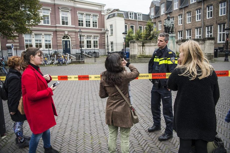 Omgeving rond Janskerkhof ontruimd na bommelding