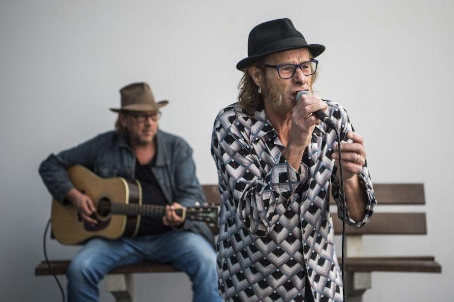 DUIC in 2020 met muzikant Jan van Piekeren