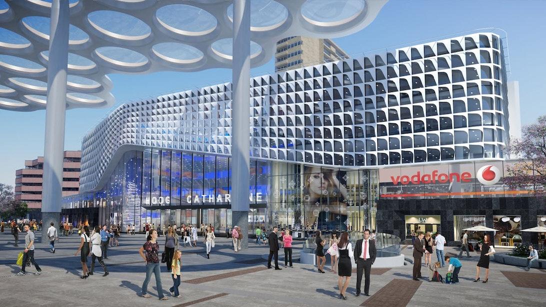 Nieuw kantoor met 1400 werkplekken VodafoneZiggo in Hoog Catharijne