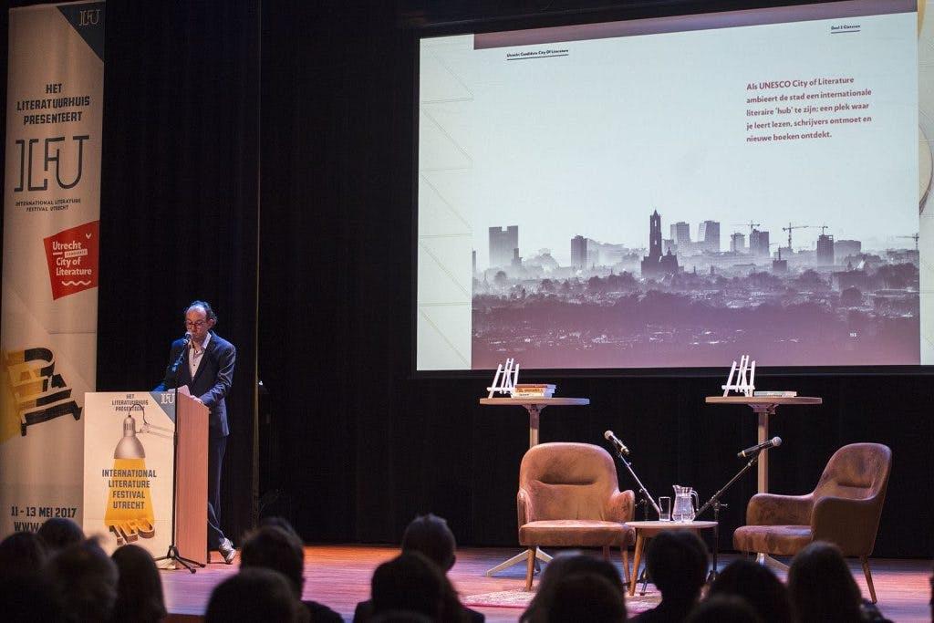 Literatuurfestival in Utrecht grootser opgezet na behalen titel Unesco City of Literature