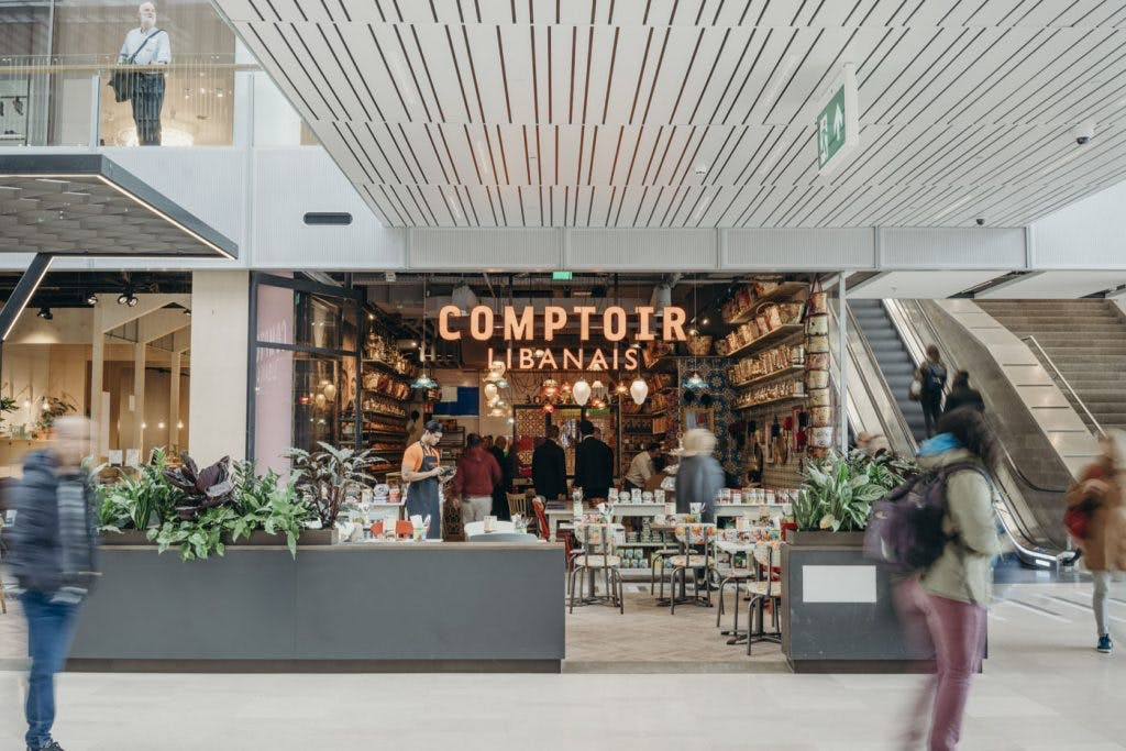 LEON, Comptoir Libanais en The Burger Federation open in Hoog Catharijne