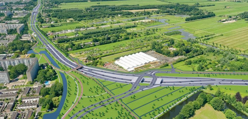 'Provincie zet stap in goede richting voor verdieping Noordelijke Randweg Utrecht'