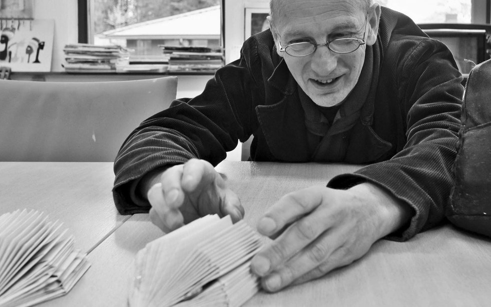"""Wim Eickholt presenteert boek over zijn jaar als dakloze in Utrecht: """"Je ontmenst"""""""