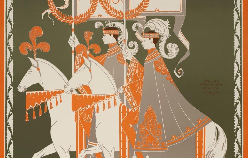 Utrechtse affiches: Feest van Kleur en Klank met Koninklijke Begeer
