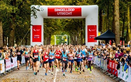 Ruim tienduizend lopers voor Singelloop door Utrechtse binnenstad