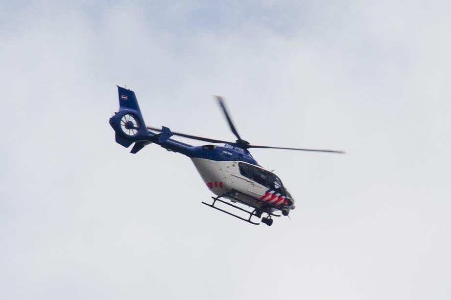 Politie zet helikopter in om verdachten van winkeldiefstal te pakken