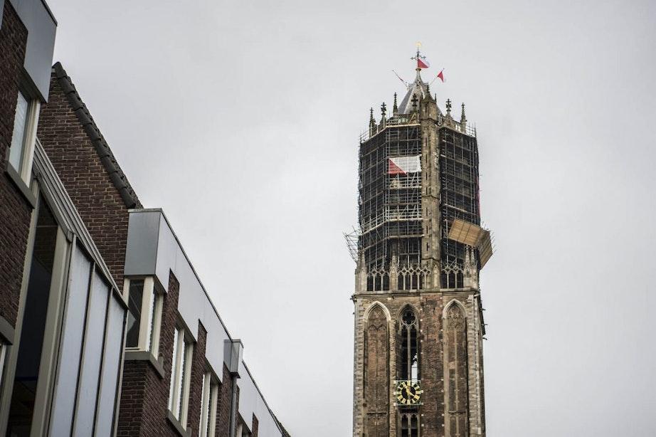 Restauratie Domtoren kost 37,2 miljoen euro; toren komt volledig in de steigers