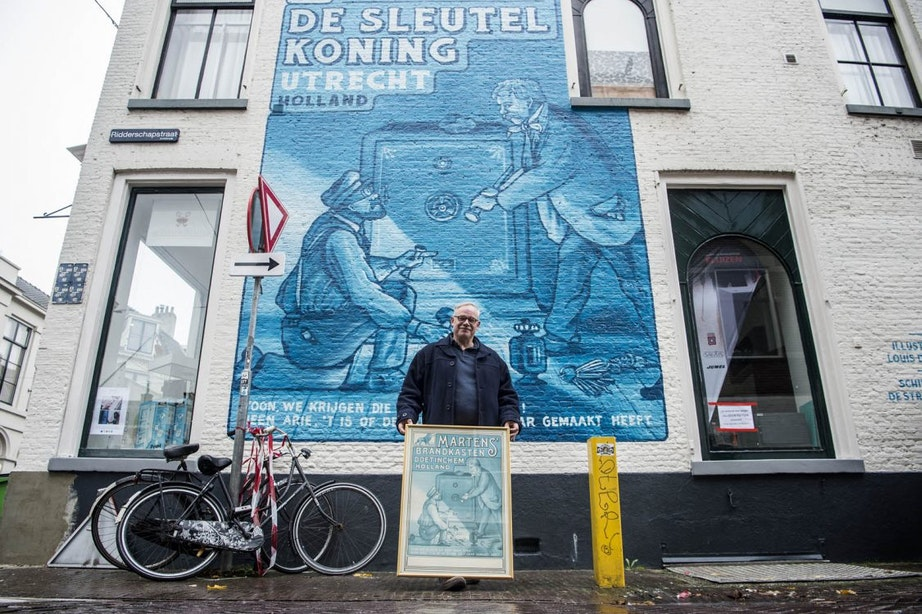 Utrecht is weer nieuwe muurschildering rijker