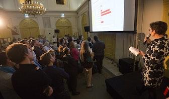 Uitslagenavond raadsverkiezingen in TivoliVredenburg 'met NOS'