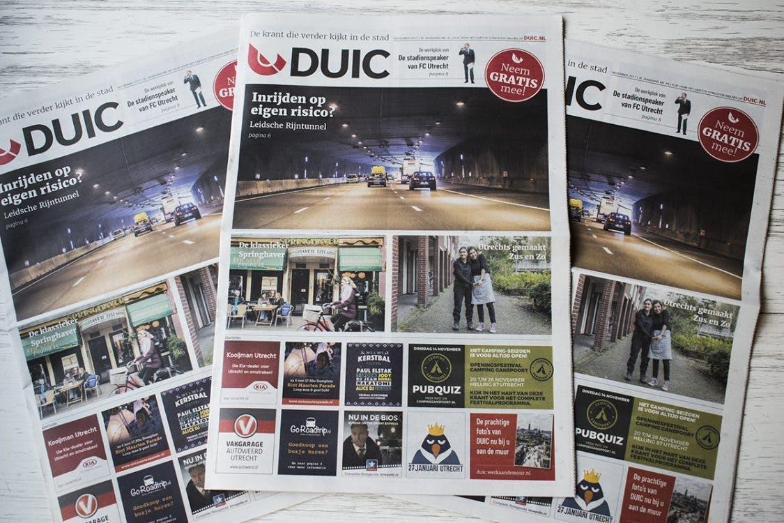 De nieuwe DUIC krant is weer uit