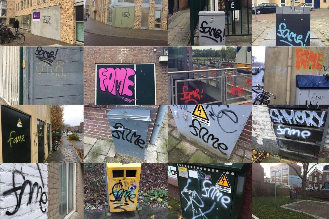 Verschillende Utrechtse wijken volgekalkt met graffiti; Wat wordt eraan gedaan?